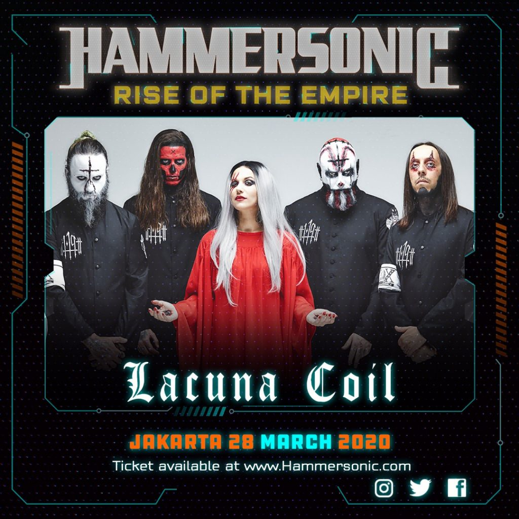 Hammersonic Line Up - Lacuna Coil