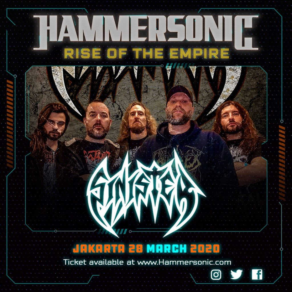 Hammersonic Line Up - Sinister