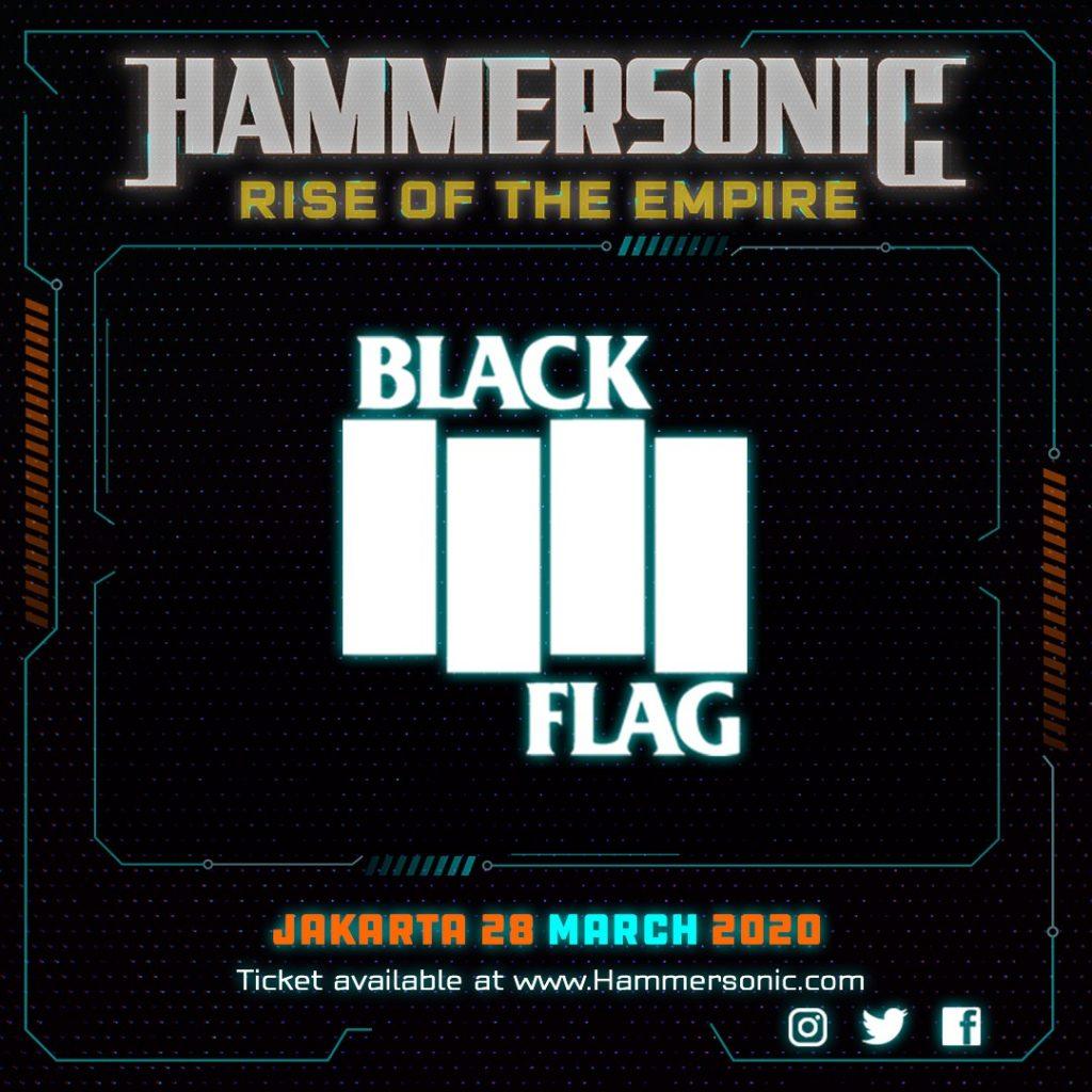 Hammersonic News - Black Flag