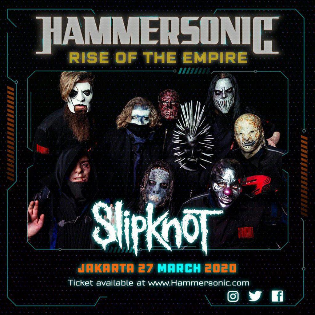 Hammersonic Slipknot Announce