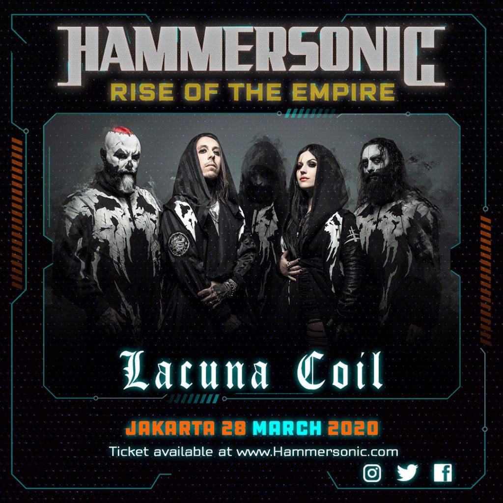 Lacuna Coil - Line up