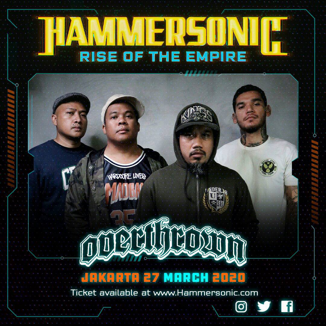 Hammersonic - Overthrown